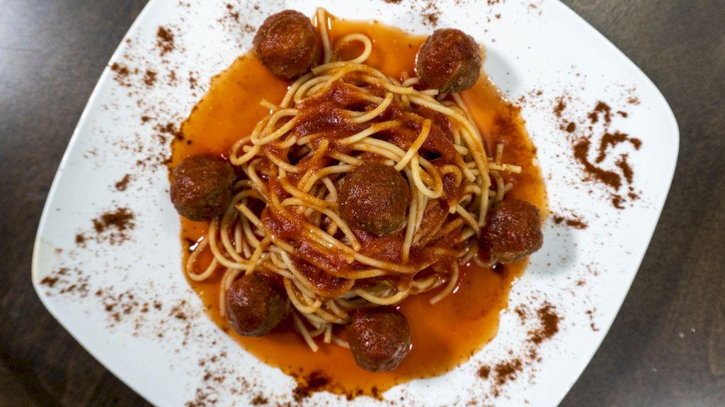 Linguini Meatballs